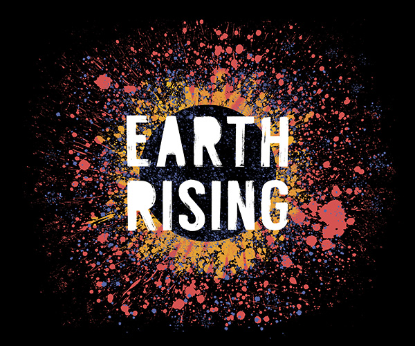 Earth Rising Podcast Logo